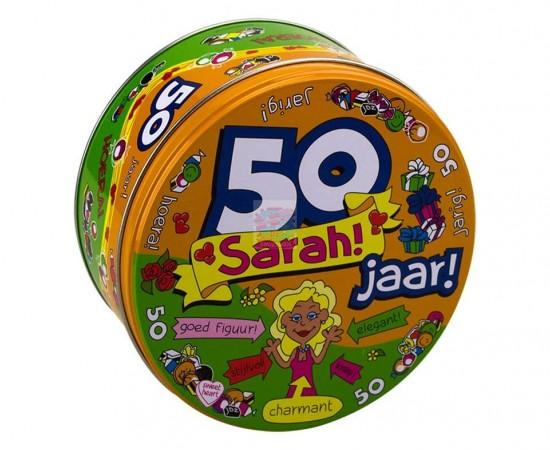 Snoeptrommel Sarah